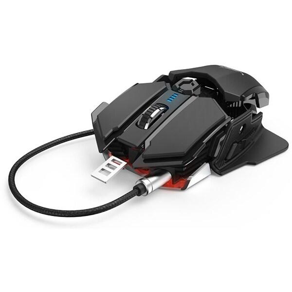 Mouse Gaming HAMA uRAGE XGM 4400-MC2, 4400 dpi, negru