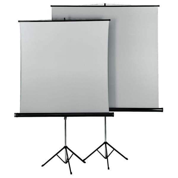 Trepied + ecran de proiectie HAMA 18792, 125 x 125 cm