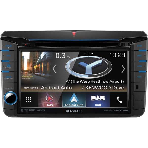 "Player multimedia auto KENWOOD DNX518VDABS, 7"", 4 x 50W, Bluetooth, navigatie Garmin"