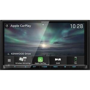 """Player multimedia auto KENWOOD DMX8019DABS, 7"""",  4 x 50W, Bluetooth"""