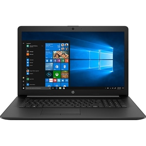 "Laptop HP 17-by3029nq, Intel Core i7-1065G7 pana la 3.9GHz, 17.3"" Full HD, 8GB, SSD 256GB, NVIDIA GeForce MX330 2GB, Windows 10 Home, negru"