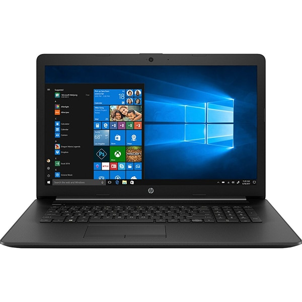 "Laptop HP 17-by3008nq, Intel Core i5-1035G1 pana la 3.6GHz, 17.3"" Full HD, 8GB, SSD 256GB, Intel UHD Graphics, Windows 10 Home, negru"