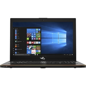 "Laptop ASUS ROG ZEPHYRUS GM501GS-EI004T, Intel® Core i7-8750H pana la 4.1GHz, 15.6"" Full HD, 16GB, SSHD 1TB + SSD 512GB, NVIDIA GeForce GTX 1070 8GB, Windows 10 Home, Negru"