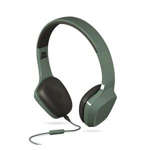 Casti ENERGY SISTEM Headphones 1 ENS428380, Cu Fir, On-Ear, Microfon, verde