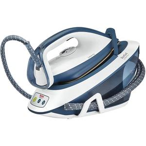 Statie de calcat TEFAL Liberty SV7030, 2200W, 310g/min, 1.5l, talpa ceramica, alb-albastru