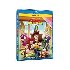 Povestea jucariilor 3 Combo Blu-ray + DVD