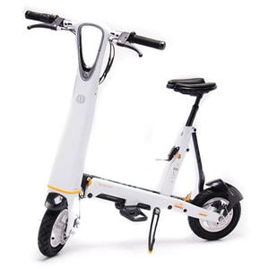 Scooter electric ONEMILE HALO CITY, 25km/ h, alb