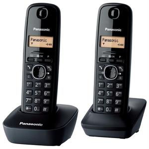 Telefon fix PANASONIC KX-PRW110FXW, 50 memorii, DECT, negru