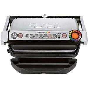 Gratar electric TEFAL OptiGrill+ GC712D34, 2000W, 6 programe automate, argintiu-negru