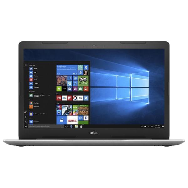 """Laptop DELL Inspiron 5570, Intel Core i5-8250U pana la 3.4GHz, 15.6"""" Full HD, 4GB, SSD 256GB, AMD Radeon 530, Windows 10 Home, Argintiu"""