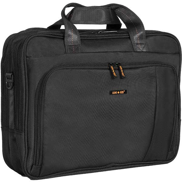 Geanta de laptop LAMONZA Crest A13019, negru