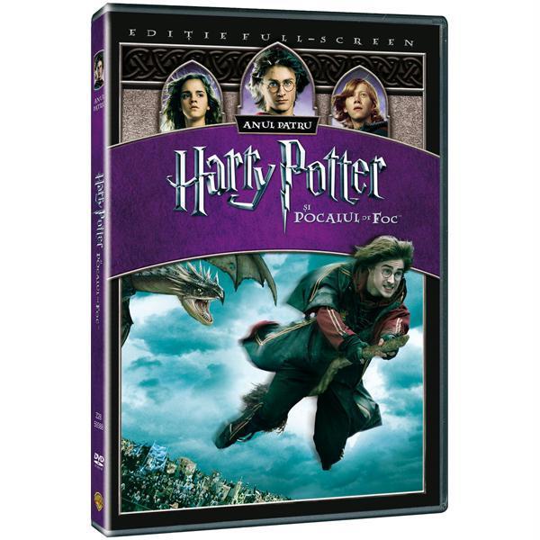 Harry Potter si Pocalul de Foc DVD