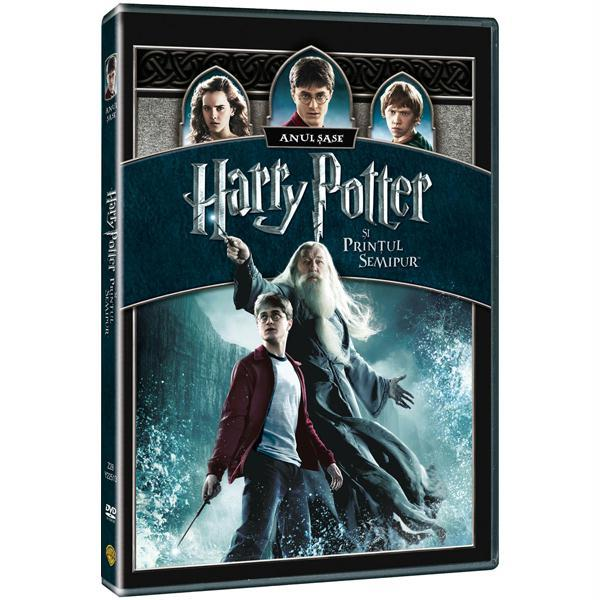 Harry Potter si Printul Semipur DVD