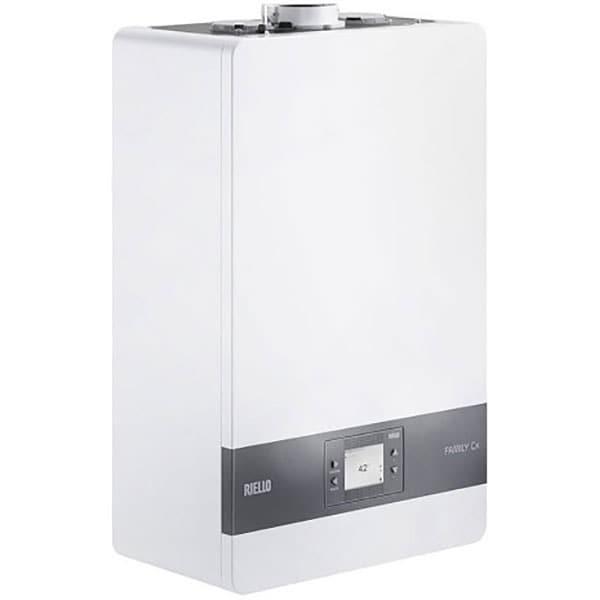 Centrala termica pe gaz in condensare RIELLO 35MRE039, 21.2 kW, alb