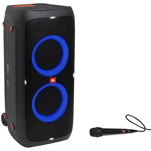 Boxa portabila JBL PartyBox 310, 240W RMS, Bluetooth, Microfon, negru