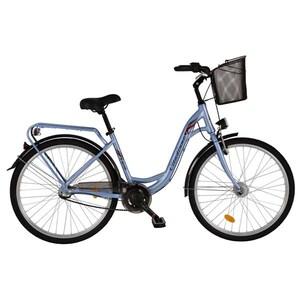 """Bicicleta de oras DHS Travel 2636, 26"""", albastru"""