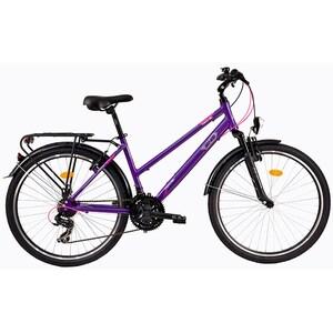 "Bicicleta de oras DHS Travel 2656, 26"", violet"