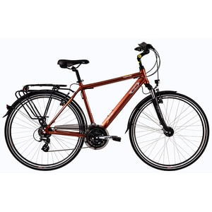 Bicicleta de oras DHS Travel 2857, 520mm, maro