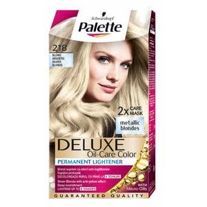 Vopsea de par PALETTE Deluxe, 218 Blond Argintiu, 115ml