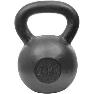 Gantera Kettlebell DHS 529FSTEKETT24, 24 kg, negru