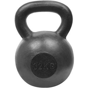 Gantera Kettlebell DHS 529FSTEKETT32, 32 kg, negru