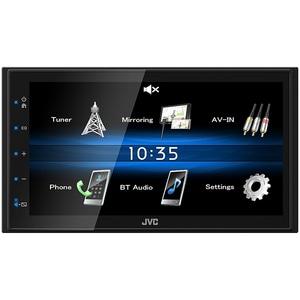 Media receiver auto JVC KW-M25BT, 4 x 50W Touch, Bluetooth, USB, MirrorLink