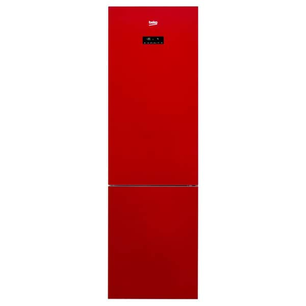 Combina frigorifica BEKO RCNA400E20ZGR, NeoFrost, 347 l, H 201 cm, Clasa A+, rosu