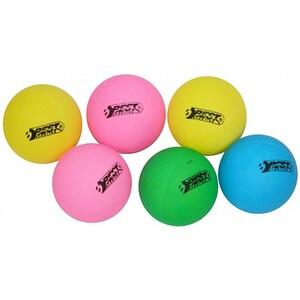 Minge tenis de masa BEST SPORTING 23106, 6 bucati, multicolor
