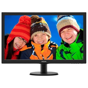 "Monitor LED PHILIPS 273V5LHSB, 27"", Full HD, 60Hz, negru"
