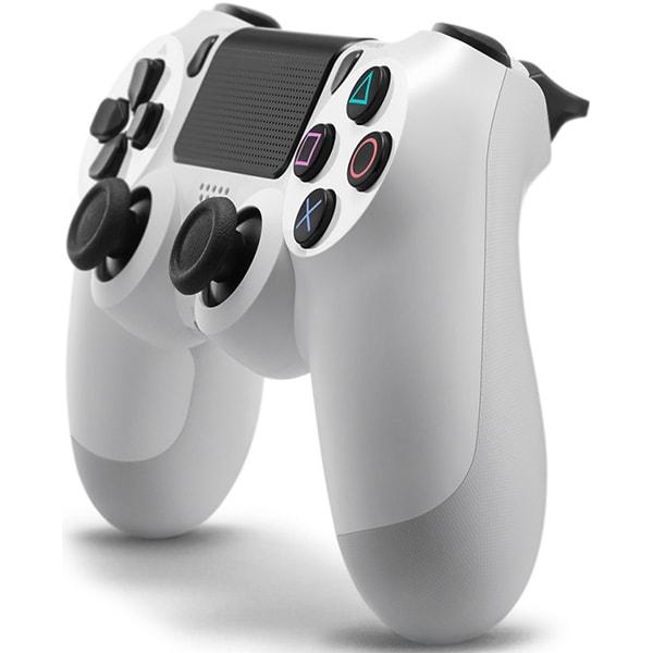 Controller Wireless SONY PlayStation DualShock 4 V2, Glaciar White
