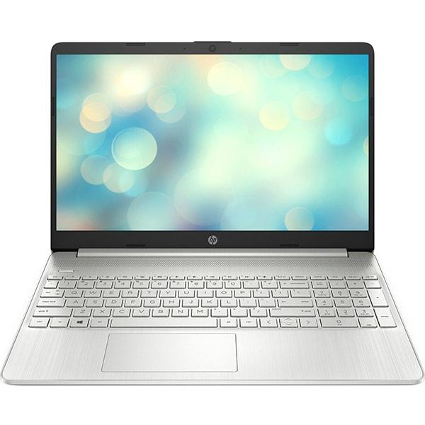 """Laptop HP 15s-eq1010nq, AMD Ryzen 3-3250U pana la 3.5GHz, 15.6"""" Full HD, 8GB, SSD 512GB, AMD Radeon R3, Free DOS, argintiu"""