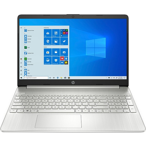 "Laptop HP 15s-eq0046nq, AMD Ryzen 5-3500U pana la 3.7GHz, 15.6"" Full HD, 16GB, SSD 512GB, AMD Radeon Vega 8, Windows 10 Home, argintiu"