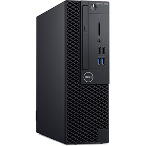Sistem Desktop PC DELL OptiPlex 3070 SFF, Intel Core i5-9500 pana la 4.4GHz, 8GB, SSD 256GB, Intel UHD Graphics 630, Windows 10 Pro