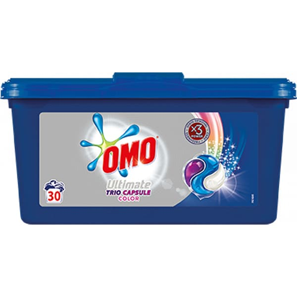 Detergent capsule OMO Ultimate Color, 30 capsule