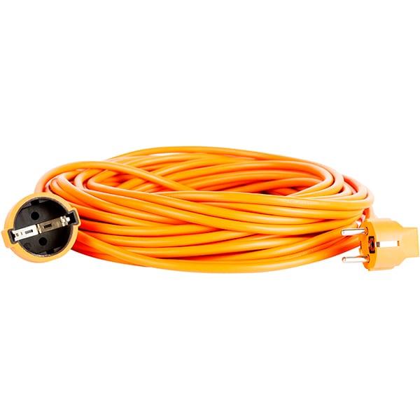 Cablu prelungitor priza BACHMANN 307.1107, 1 priza Schuko, 10m, portocaliu