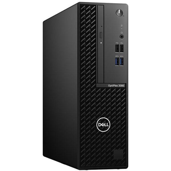 Sistem Desktop PC DELL OptiPlex 3080 SFF, Intel Core i5-10500 pana la 4.5GHz, 8GB, SSD 256GB, Intel UHD Graphics 630, Windows 10 Pro, negru