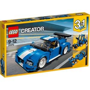 LEGO Creator: Masina pentru curse de raliu turbo 31070, 9 -12 ani, 664 piese