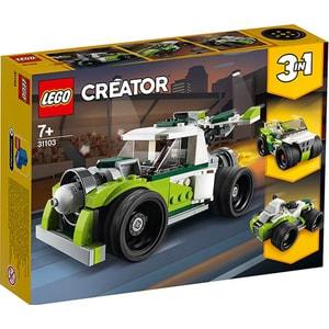 LEGO Creator: Camion racheta 31103, 7 ani+, 198 piese