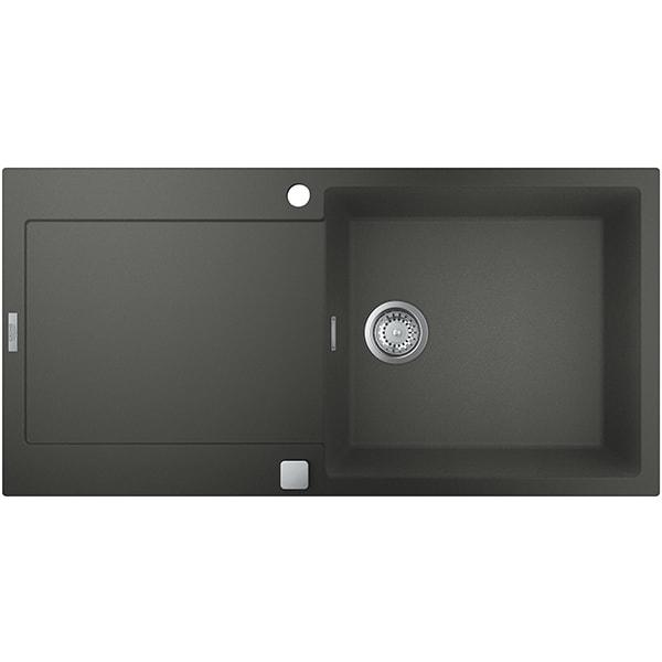 Chiuveta bucatarie GROHE K500 31645AT0, 1 cuva, picurator reversibil, compozit quartz, antracit