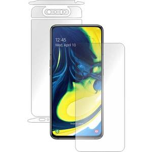 Folie protectie pentru Samsung Galaxy A80 (2019), SMART PROTECTION, polimer, fullbody, transparent