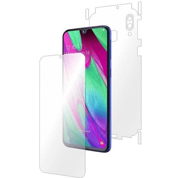 Folie protectie pentru Samsung Galaxy A40, SMART PROTECTION, polimer, fullbody, transparent