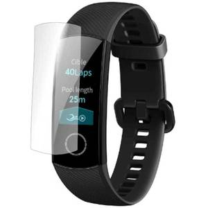 Folie protectie pentru Huawei Honor Band 4, SMART PROTECTION, 4 folii incluse, polimer, display, transparent