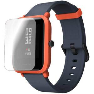 Folie protectie pentru Xiaomi Amazfit Bip 2018, SMART PROTECTION, 4 folii incluse, polimer, display, transparent