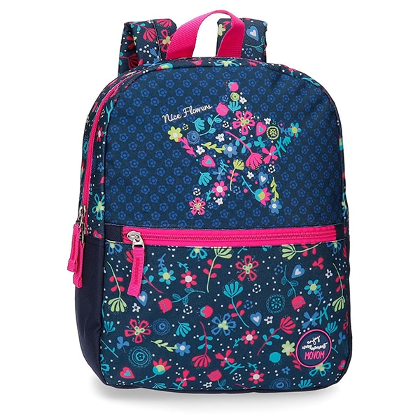 Rucsac MOVOM Nice Flowers 34422.61, multicolor
