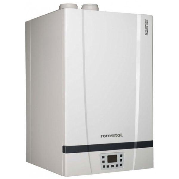 Centrala termica pe gaz in condensare HABITAT 35MH0006, 49.2 kW, alb