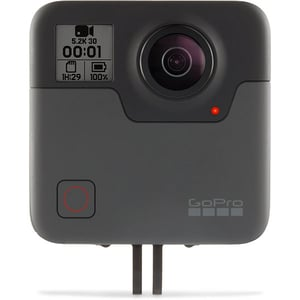 Camera video sport GoPro Fusion 360, 5.2K, Wi-Fi, GPS, negru-gri