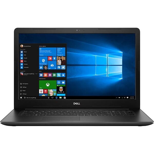 """Laptop DELL Inspiron 3780, Intel Core i5-8265U pana la 3.9GHz, 17.3"""" Full HD, 8GB, 1TB + SSD 128GB, AMD Radeon 520 2GB, Windows 10 Home, Negru"""
