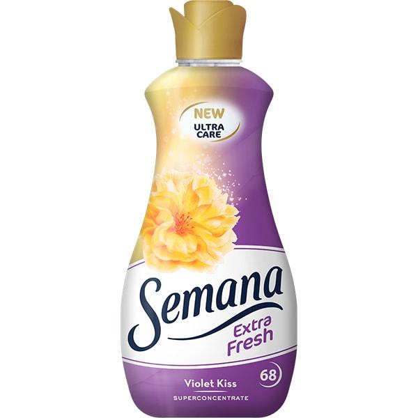Balsam de rufe SEMANA Extra Fresh Violet Kiss, 1.7l, 68 spalari