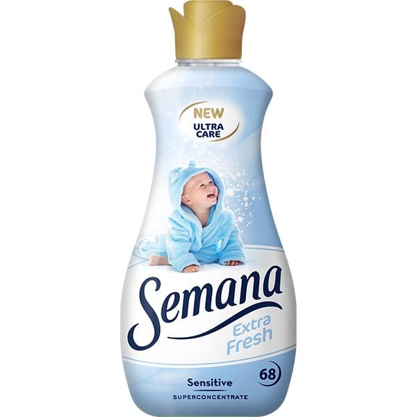 Balsam de rufe SEMANA Sensitive, 1.7l, 68 spalari