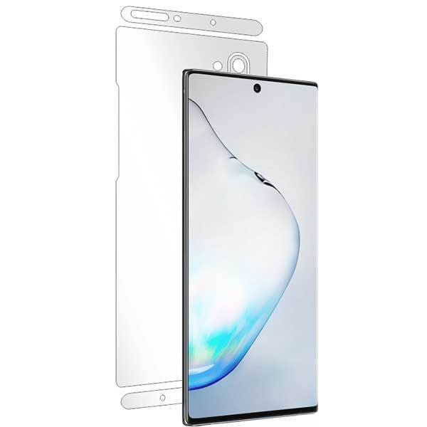 Folie protectie pentru Samsung Galaxy Note 10, SMART PROTECTION, polimer, spate si laterale, transparent